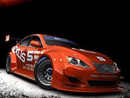 Lexus IS-F Racing Concept: titulní fotka