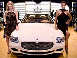 Detroit 2008: Maserati Quattroporte Collezione Cento – Kancelář na rychlá rozhodnutí: titulní fotka
