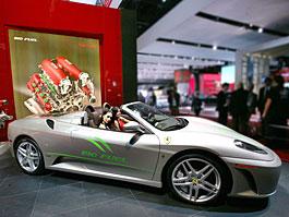 Ferrari 430 Spider Bio Fuel: zelený kůň? Ach jo...: titulní fotka