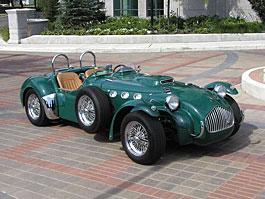 Allard J2X: návrat klasického anglického roadsteru: titulní fotka
