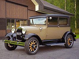 Ford Model A: veterán s motorem Cosworth: titulní fotka