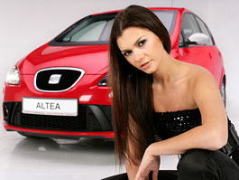 Miss Polska 2007 a Seat Altea (fotogalerie): titulní fotka