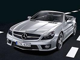 Mercedes-Benz SL 63 AMG: pětisetkoňové stádo do luxusního roadsteru: titulní fotka