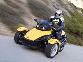 BRP Can-Am Spyder: nová dimenze tříkolek: titulní fotka