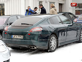 Spy Photos: Porsche Panamera, už se to blíží: titulní fotka