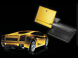 Lamborghini také jako PDA: titulní fotka