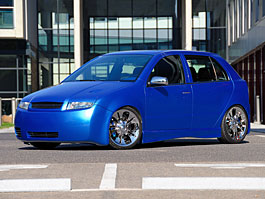 Tuning Cup: Fabia �mouline: tituln� fotka