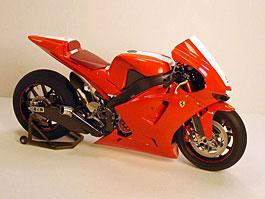 Motocykl značky Ferrari je tu!: titulní fotka