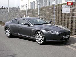 Spy Photos: Aston Martin Rapide téměř bez maskování: titulní fotka