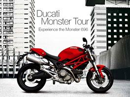 Ducati Monster Tour: prezentace 696 dorazí i do Prahy: titulní fotka