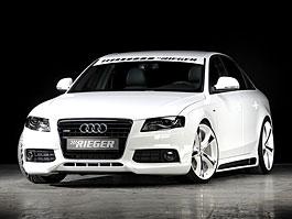 Audi A4 3.0 TDI od Rieger Tuning: titulní fotka