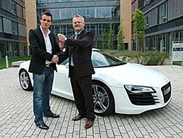 Leoš Mareš si splnil sen: Jezdí v Audi R8: titulní fotka