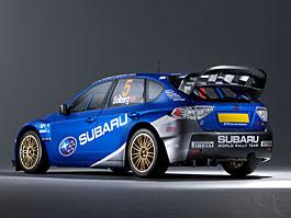 Subaru Impreza WRC 2008 - první oficiální fotografie: titulní fotka
