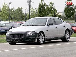 Spy Photos: Maserati Quattroporte S: titulní fotka