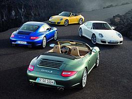 Porsche 911 facelift - první oficiální fotografie: titulní fotka