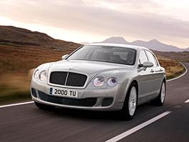 Bentley Continental Flying Spur Speed - let první třídou: titulní fotka