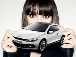 Modelky a VW Scirocco: titulní fotka