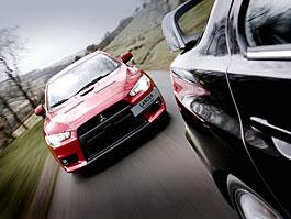 Akční snímky Mitsubishi Lancer Evo X: titulní fotka