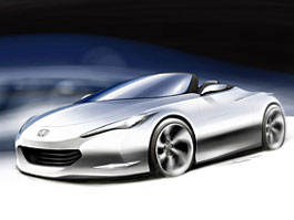 Honda OSM - vize lehkého roadsteru: titulní fotka