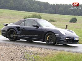 Spy Photos: Porsche Turbo Cabrio: titulní fotka