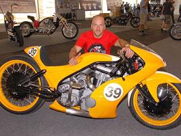 Roger Goldammer - světový šampión ve stavbě motocyklu: titulní fotka