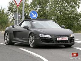 Spy Photos: Audi R8 Spider: titulní fotka