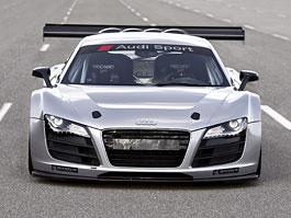 Audi R8 GT3 v závodní úpravě přímo z automobilky: titulní fotka