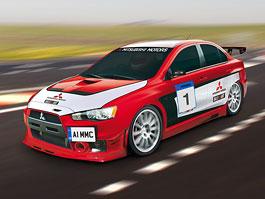 Mitsubishi chystá okruhový speciál na bázi Evo X: titulní fotka
