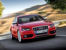 Paříž 2008 - Audi S4 a S4 Avant budou mít 333 koní: titulní fotka
