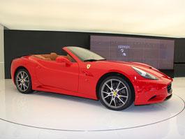Paříž 2008: Ferrari California na vlastní oči: titulní fotka