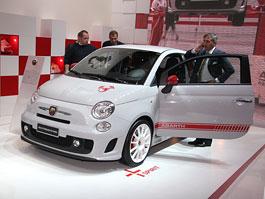 Paříž 2008 - Fiat 500 Abarth Esseesse - kompletní info: titulní fotka
