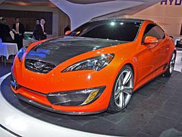 Paříž 2008: Hyundai Genesis Coupe Concept: titulní fotka