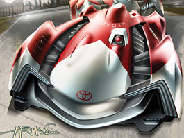 L.A. Design Challenge: Toyota Le Mans Racer: titulní fotka