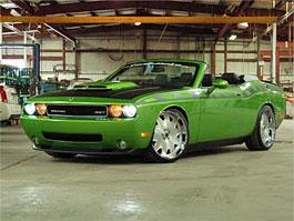SEMA 2008: Dodge Challenger SRT8 bez střechy, zato s 568 koníky: titulní fotka