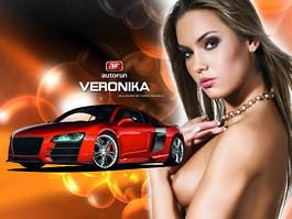 Veronika Fasterová: série vrcholí...odvážně: titulní fotka