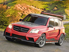 SEMA: RENNTech Mercedes-Benz GLK Pikes Peak: titulní fotka