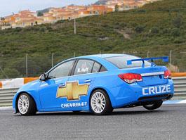 Chevrolet Cruze WTCC v akci na Estorilu: titulní fotka