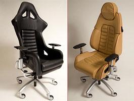 Sportovní kancelářské židle: v