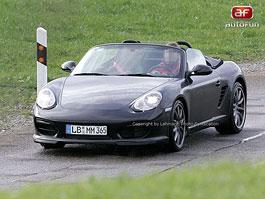 Spy Photos: Porsche Boxster Speedster: titulní fotka