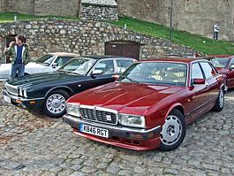 V Karlových Varech se sjelo přes 40 Jaguarů: titulní fotka
