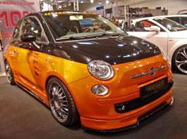 Essen 2008 živě: Fiaty 500 trochu jinak: titulní fotka