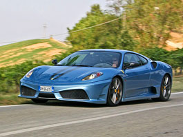 Za volantem: Ferrari 430 Scuderia: titulní fotka