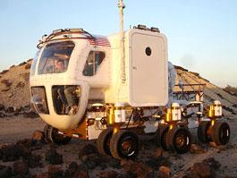 NASA představila veřejnosti nové lunární vozítko: titulní fotka