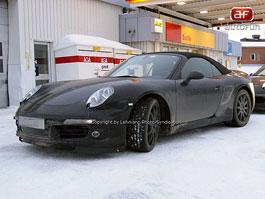 Spy Photos: Porsche 911 Cabrio: titulní fotka