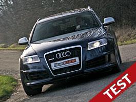 Test: Audi RS6 – Tři sta z místa. Skoro: titulní fotka