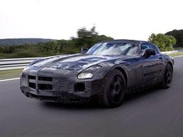 Mercedes-Benz SLS AMG: první oficiální informace a