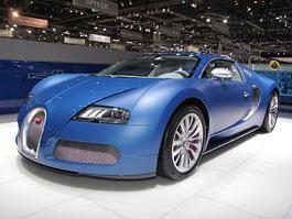 Autosalon Ženeva: Bugatti Veyron Bleu Centenaire: titulní fotka