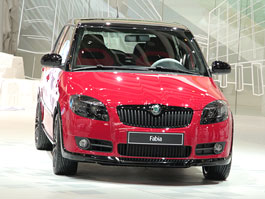Autosalon Ženeva: Škoda Fabia Sports Design Concept: titulní fotka