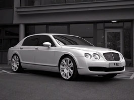 Bentley Continental Flying Spur Pearl White Edition od Project Kahn: titulní fotka