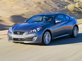 Hyundai Genesis Coupe není rychlý a zběsilý: titulní fotka
